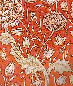 I love William Morris prints. For those of you that have no soul, you can sometimes find these in books at university libraries and rip them out and frame them. But you'll also burn in hell.