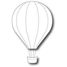 Boutique scrapbooking - Die BigShot Memory Box die montgolfiere