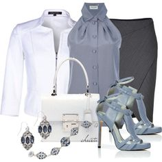 Top 14 Spring-Summer Woman Work Outfits – Design From Famous Fashion Blog - Way To Be Happy (5)