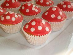 padestoeltjes cupcake