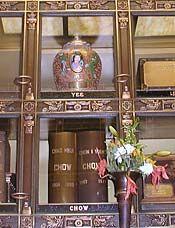 Glass niches in the Columbarium