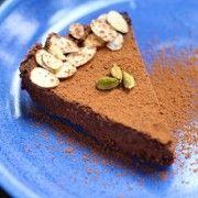 Cardamom Chocolate Mousse Cake