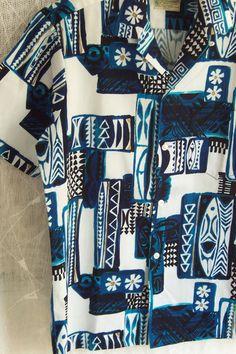 60s Hawaiian Men's Shirt  Aloha by joyofvintagewithsam on Etsy, $42.00