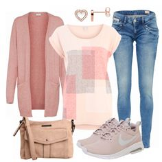 Illusion Outfit – Leisure Outfits at FrauenOutfits.de – Fashion Ideas And Suggestions Fall Outfits For Work, Cute Summer Outfits, Fall Winter Outfits, Classy Outfits, Casual Outfits, Curvy Outfits, Mode Outfits, Urban Outfits, Fashion Outfits