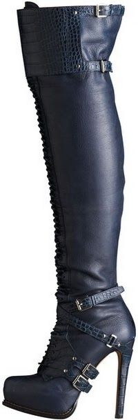 Dior Guetre Over-the-knee Boot...