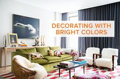 See more images from why you should be decorating with bright colors on domino.com