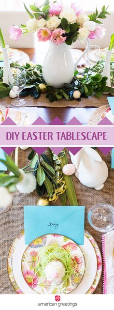 Start your own traditions this spring by setting out greeting card as the place card on your holiday table! You're sure to be inspired by the vibrant pastel colors and fresh flowers—along with the other thoughtful and creative decorating ideas—of this DIY Easter Tablescape. Pick up everything you need to set the stage for amazing family memories at Target.