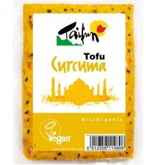 TOFU CON CURCUMA 200GR BIO - TAIFUN