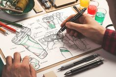 Behance에 스케치북 모형 / 아티스트 에디션