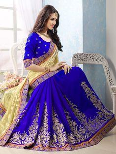 Dazzling Combination Saree