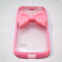 Samsung Galaxy S4 mini caseSamsung mini coverPink bow by AnkerCase, $10.99  Need to stock up on casess
