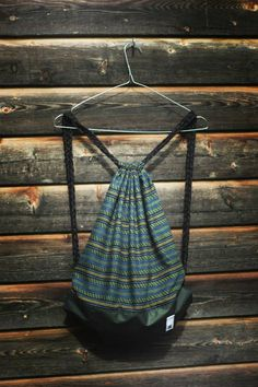 stripes <3 Old Clothes, Drawstring Backpack, Stripes, Backpacks, Fabric, Bags, Fashion, Tejido, Handbags