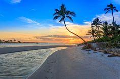 Sunset Gordon Pass Naples Florida by Hans Leschmann on 500px
