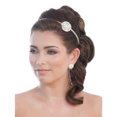 Ava Vintage Brooch Headband - Bridal Jewellery - Crystal Bridal Accessories