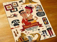 Folders criativos para pizzaria e restaurantes (4)