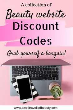 Beauty discount codes and promo codes! Treat yourself and get a bargin with these discount codes and promo codes for the best beauty products and websites! Discount Makeup, Discount Beauty, Best Beauty Tips, Beauty Hacks, Anti Aging Skin Care, Face And Body, Skin Care Tips, Makeup Tips, How To Apply