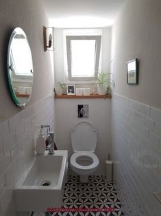 Check out this significant graphic and have a look at the here and now help and advice on Tiny Bathroom Renovation Small Downstairs Toilet, Small Toilet Room, Downstairs Cloakroom, Bathroom Design Small, Bathroom Interior Design, Toilet Room Decor, Tiny Bathrooms, Bad Inspiration, Toilet Design