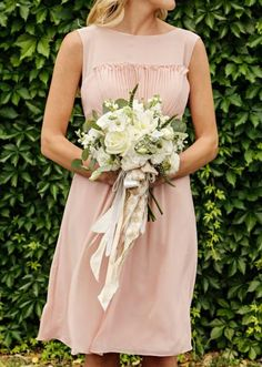 Soft white bouquet by Posh Floral Designs. Photo by John Christopher Photographs. #wedding #bouquet #white