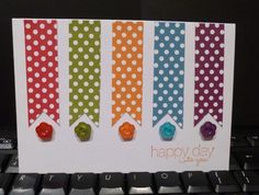 Polka Dots by sistersandie - Cards and Paper Crafts at Splitcoaststampers