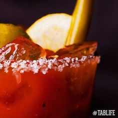 """""""How to make a Bloody Maria: switch out the Vodka for Tequila. #NationalTequilaDay"""" Photo taken by @tabanero on Instagram, pinned via the InstaPin iOS App! http://www.instapinapp.com (07/25/2015)"""