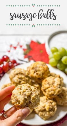 You've wrapped all the presents and decked the halls with holiday cheer, now all that's left is to find the perfect dish to serve at all of your holiday events. That's where this recipe for Healthy Sausage Balls comes in handy. All in all this festive baked good is the perfect easy yet delicious homemade treat that your family is sure to enjoy!