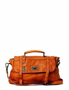 Pieces BEAM LEATHER BAG NEW