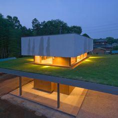 modern farmhouse by Japanese architecture firm Archi Farm
