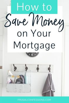 I need mortgage payoff tips – our mortgage is too expensive! If we can pay off mortgage early, then we'd have all that money each month to play with. I love how this woman shows you how to save money on your mortgage costs AFTER you close (and refina