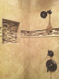 classic travertine tile shower design ideas pictures remodel and decor page 320 - Shower Tile Design Ideas