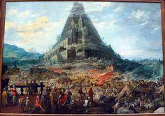 """バベルの塔 """"The Tower of Babel""""、絵画集"""