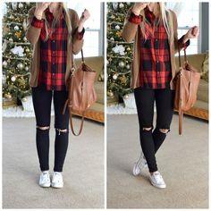 f548e142a4c52 17 Outfits para la escuela con skinny jeans negros