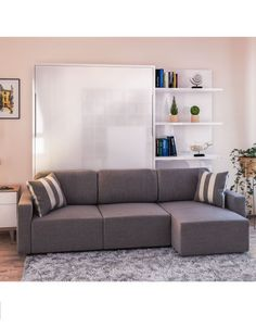 murphysofa clean- sectional queen wall bed ISEWDRWH