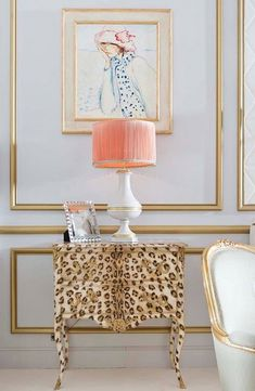 "furniture-meubles: ""Moissonnier Frères from France. Leopard Print Love Affair. ""                                                                                                                                                      More"