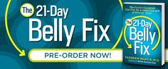 The 21-Day Belly Fix by Dr. Taz