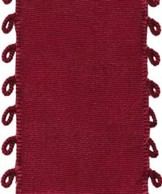 We're taking a hint from Pantone's color of the year with Caspari Entertaining with Caspari Picot Wired Ribbon in Burgundy