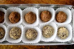 FUN RECIPE WORLD : Melt - In - Your - Mouth Dark Chocolate Coconut Oil Truffles Recipe