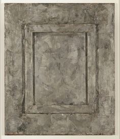Jasper Johns, (1930 - ), Canvas 1956, encaustic and collage on canvas with objects, 76,2 x 63,5 cm