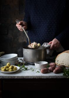 Zuppa di cardi patate, orzo e polpettine di pollo per Taste&More Magazine | Smile, Beauty and More