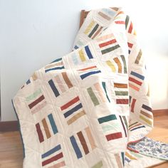 Scrappy Lines Quilt Pattern
