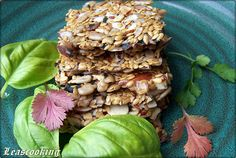 "Lea's Cooking: ""The Best Raw Flax Seeds Crackers Recipe"""