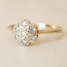 How Are Vintage Diamond Engagement Rings Not The Same As Modern Rings? If you're deciding from a vintage or modern diamond engagement ring, there's a great deal to consider. Vintage Diamond Rings, Vintage Engagement Rings, Vintage Rings, Diamond Engagement Rings, Vintage Shops, Antique Jewelry, Vintage Jewelry, Art Deco Jewelry, Engagement Rings