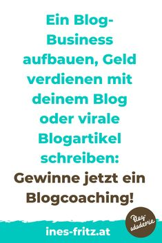 Gewinnspiel bis 29.2.2020: Gewinne dein persönliches Blogcoaching im Wert von 249 Euro! Sei schnell und melde dich gleich dafür an!   #blogger #blogreichweitesteiger #mehrleser #seo #bloggen #blogartikel #tippsfuerblogger #gewinnspiel #blogverbessern #besserschreiben #affiliatemarketing #geldverdienenblogger Affiliate Marketing, Marketing Logo, Content Marketing, Internet Marketing, Storytelling, Website, Euro, Wordpress, Search Engine Optimization