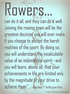 Rowers....  One of the greatest decisions I've ever made!
