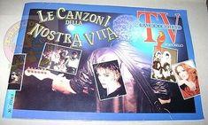 TV-RADIOCORRIERE-Le-canzoni-della-nostra-vita-1987-album-figurine-completo-raro Sticker Books, Album, Stickers, Tv, Cover, Ebay, Figurine, Sticker, Tvs