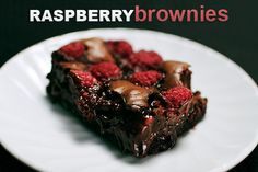 Chocolate and Raspberry.  The best combination of flavors in the world.