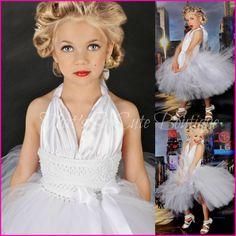 Marilyn Monroe Tutu Dress-Marilyn, monroe, tutu dress, white, costume, halloween, celebrity