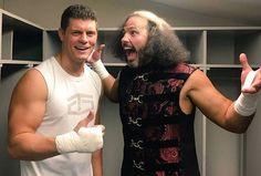 Cody Rhodes & Broken Matt Hardy #wwe #tna