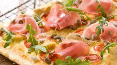 Oppskrift på Pizza di Parma