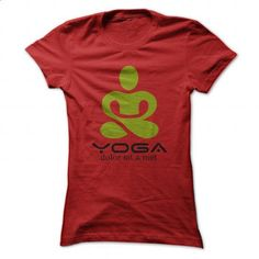 Yoga Color - Red - #tommy #design tshirts. ORDER HERE => https://www.sunfrog.com/Fitness/Yoga-Color--Red-Ladies.html?60505