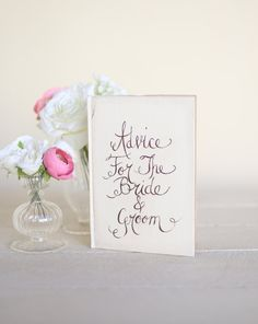 the bride, guest book